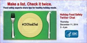 CDCFoodChat Holidays