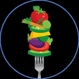 circle-fork-food