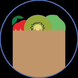 circle-bag-food